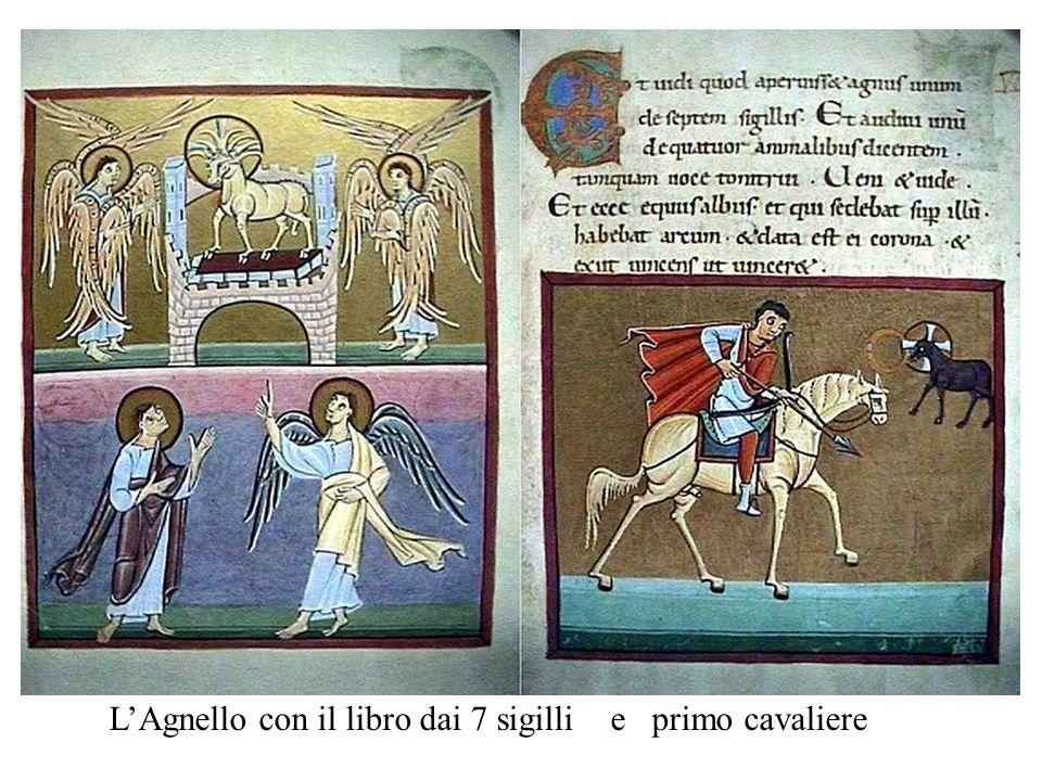 LAgnello con il libro dai 7 sigilli e primo cavaliere
