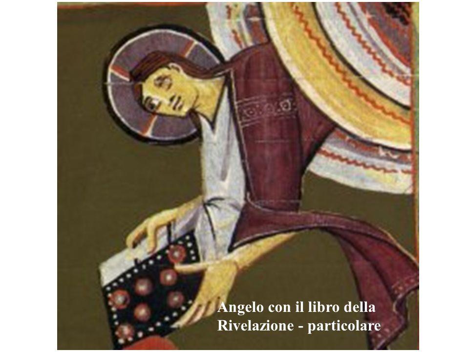 Angelo con il libro della Rivelazione - particolare