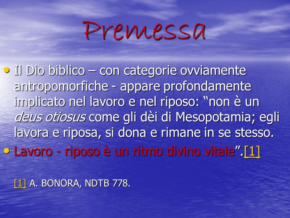 GENESI: in principio Dio creò… Nel primo capitolo della Genesi incontriamo Dio che crea, dice, vede, separa, chiama, fa, benedice: in una parola, Dio lavora.