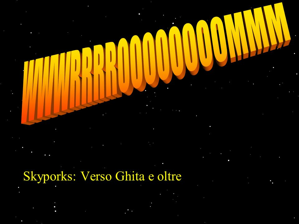 Skyporks: Verso Ghita e oltre