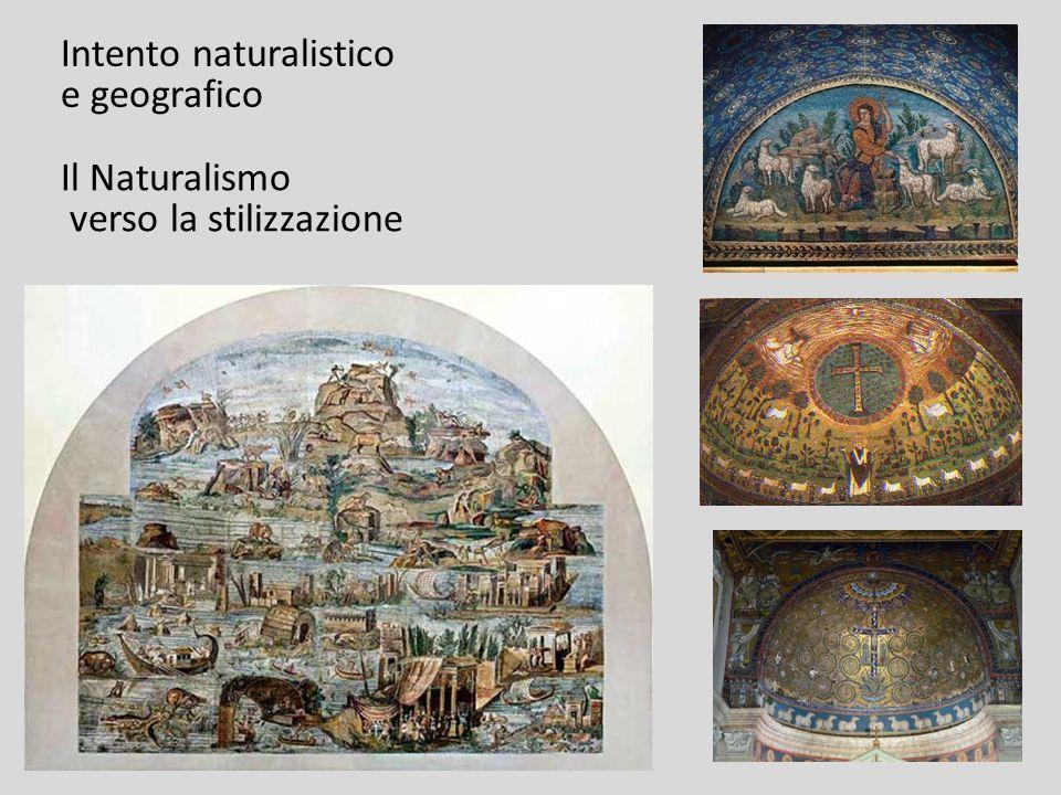Intento naturalistico e geografico Il Naturalismo verso la stilizzazione