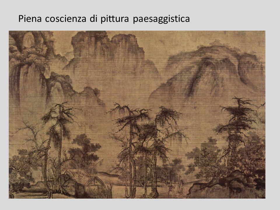 Piena coscienza di pittura paesaggistica
