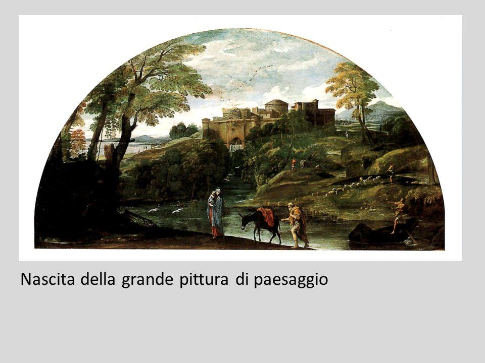 Nascita della grande pittura di paesaggio