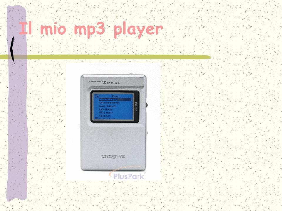 Il mio mp3 player