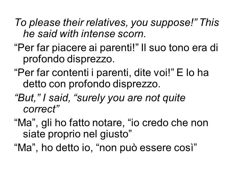 Traduzione del verbo citante neutro say -Da non fare: aumento dello spessore semantico, utilizzando in L2 un verbo portatore di valore semantico specifico.