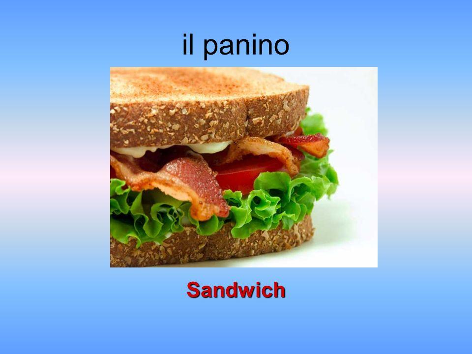 il panino Sandwich
