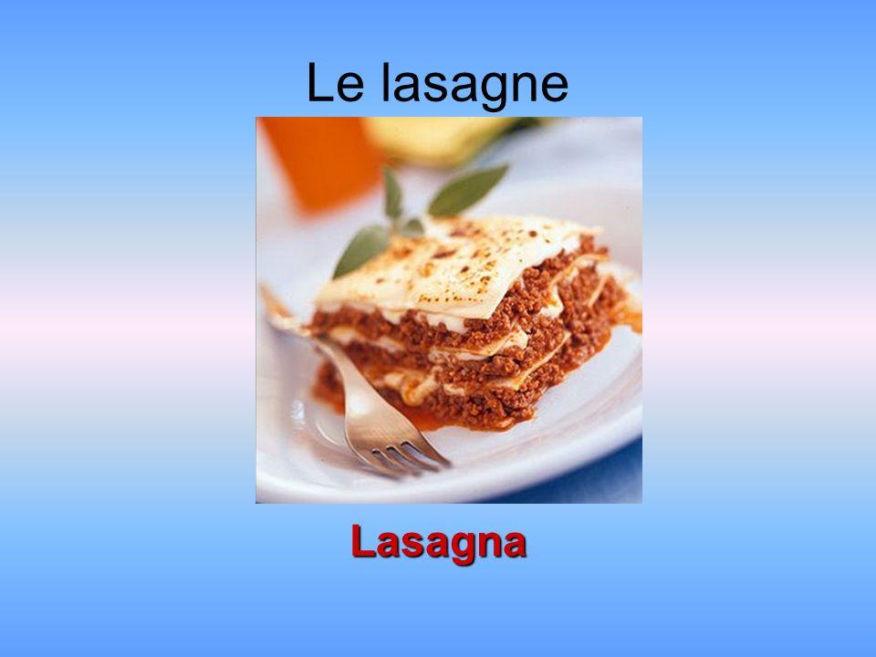 Le lasagne Lasagna