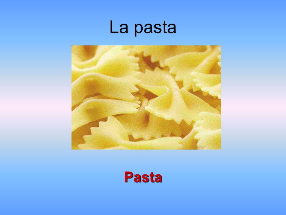 La pasta Pasta