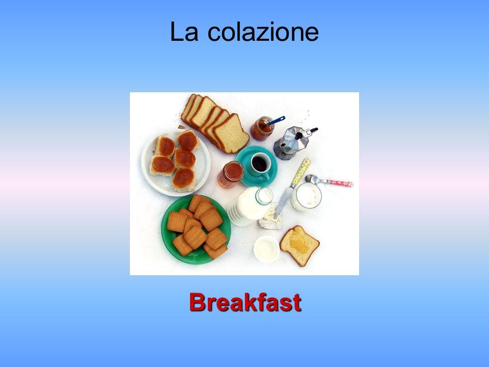 La colazione Breakfast