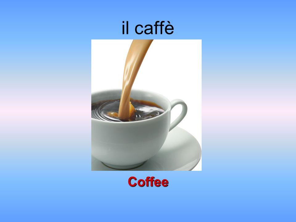il caffè Coffee