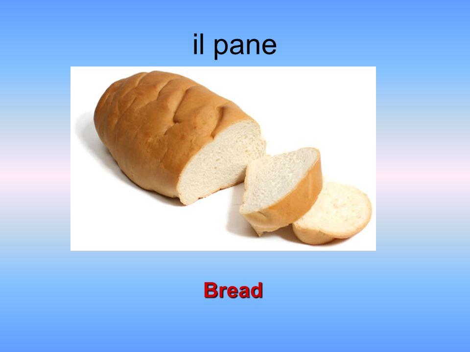 il pane Bread