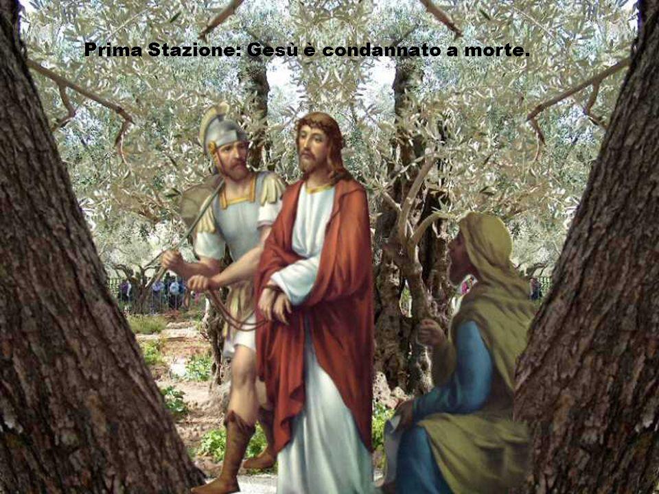 La Via Crucis. (Cliccare)(Testi ed immagini presi dal net)