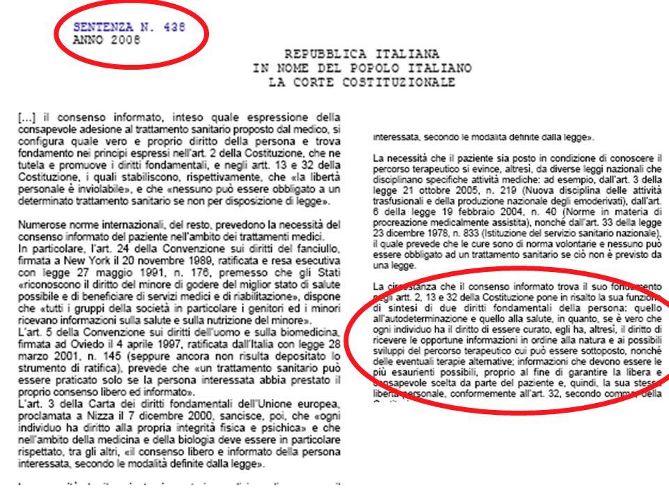 Corte dAppello 1999: il tutore ha la cura della persona (art.