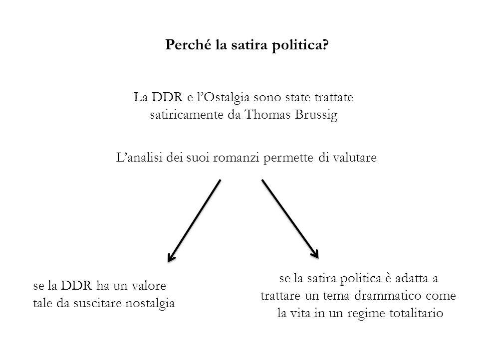 1.Caratterizzazione del totalitarismo: occorre cogliere i tratti distintivi del sistema a cui la satira è rivolta Come è strutturata lanalisi.