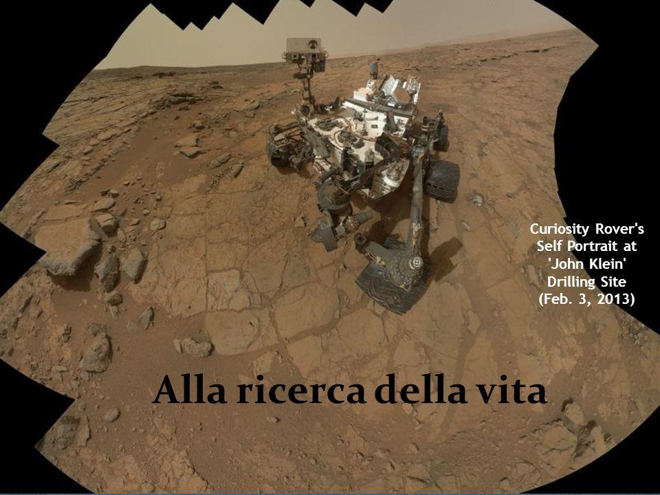 Curiosity Rover's Self Portrait at 'John Klein' Drilling Site (Feb. 3, 2013) Alla ricerca della vita