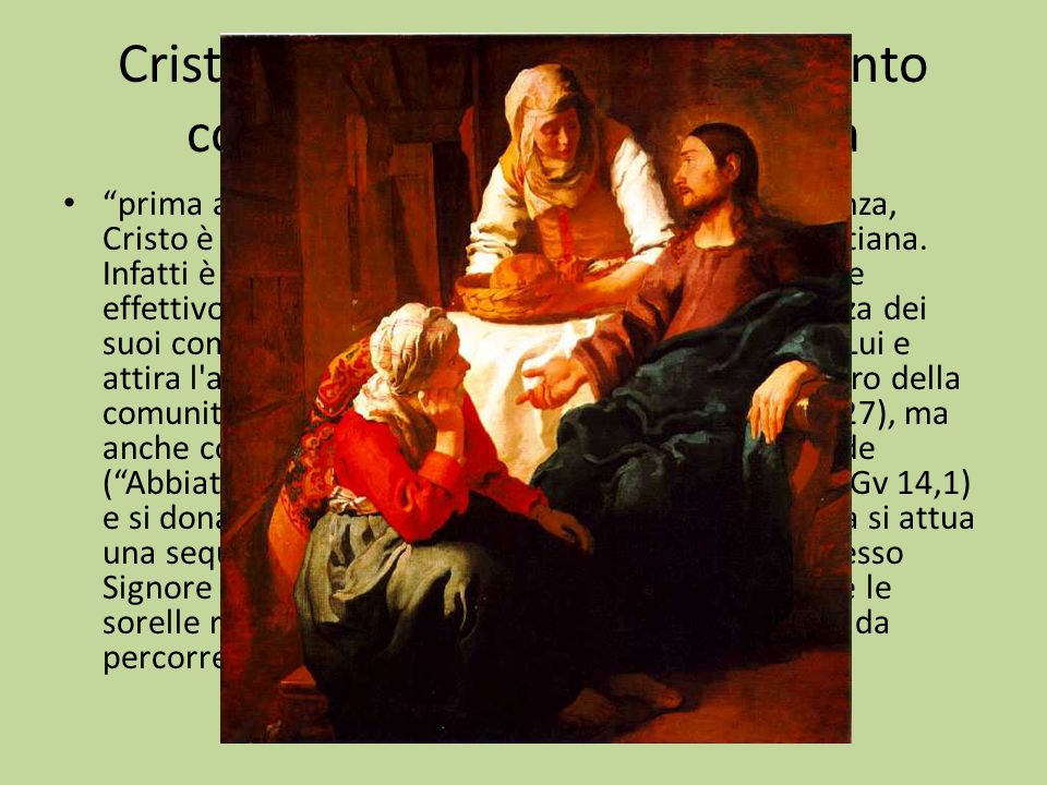 Cristo e lazione dello Spirito Santo come mediazione costitutiva prima ancora di essere il modello di ogni obbedienza, Cristo è Colui al quale va ogni vera obbedienza cristiana.