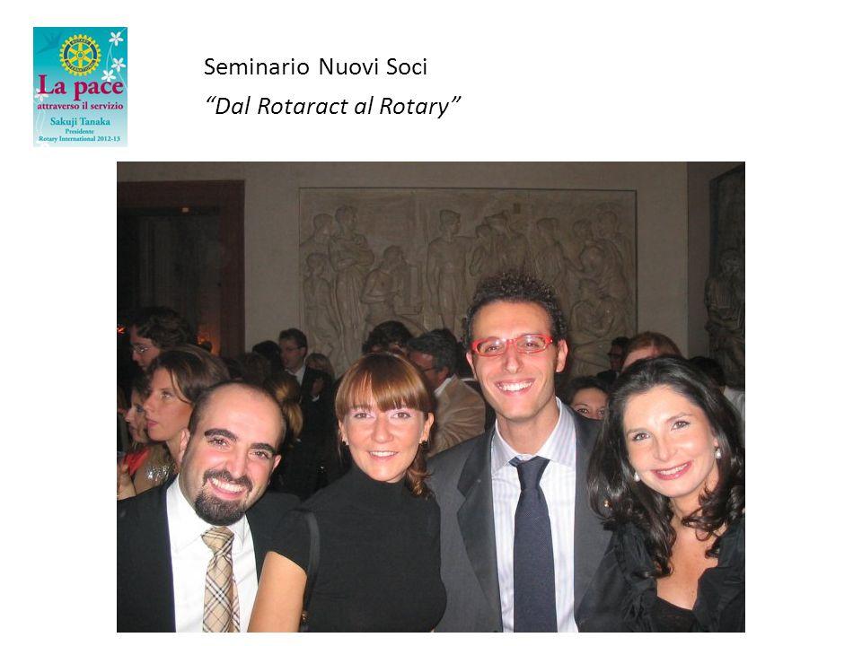 Seminario Nuovi Soci Dal Rotaract al Rotary Grazie!!!