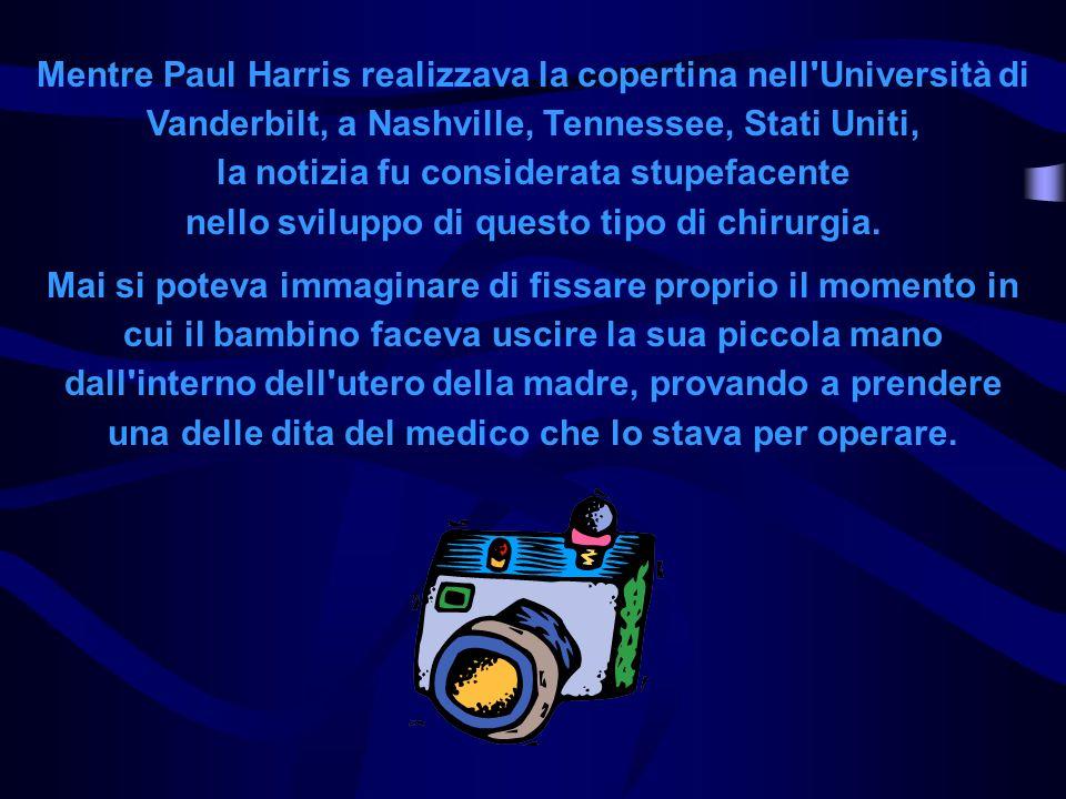 Mentre Paul Harris realizzava la copertina nell'Università di Vanderbilt, a Nashville, Tennessee, Stati Uniti, la notizia fu considerata stupefacente