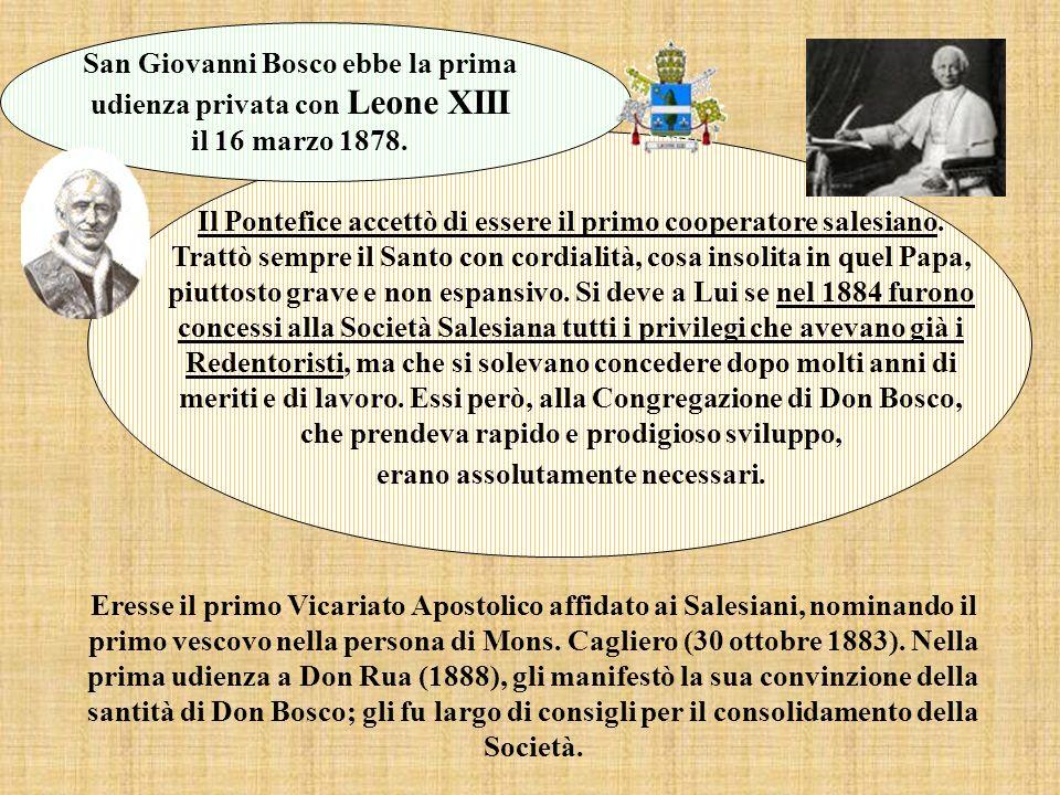 Eresse il primo Vicariato Apostolico affidato ai Salesiani, nominando il primo vescovo nella persona di Mons.