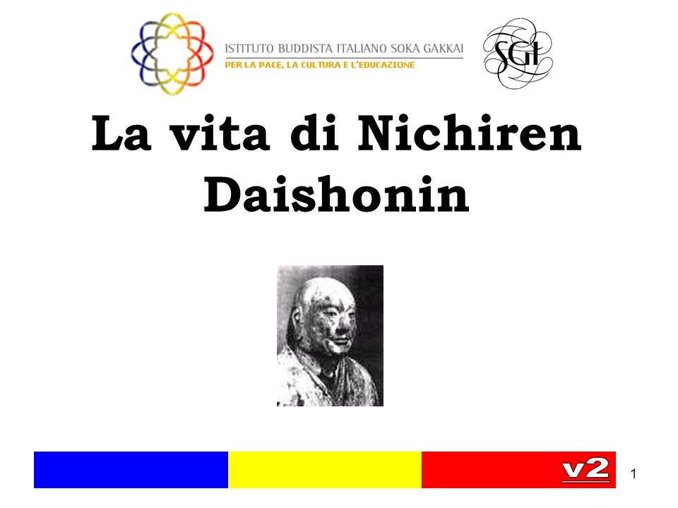 1 La vita di Nichiren Daishonin
