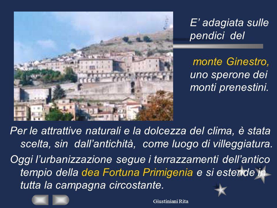 Il santuario della dea Fortuna fu costruito circa II secoli prima di Cristo e frequentato fino al IV sec.
