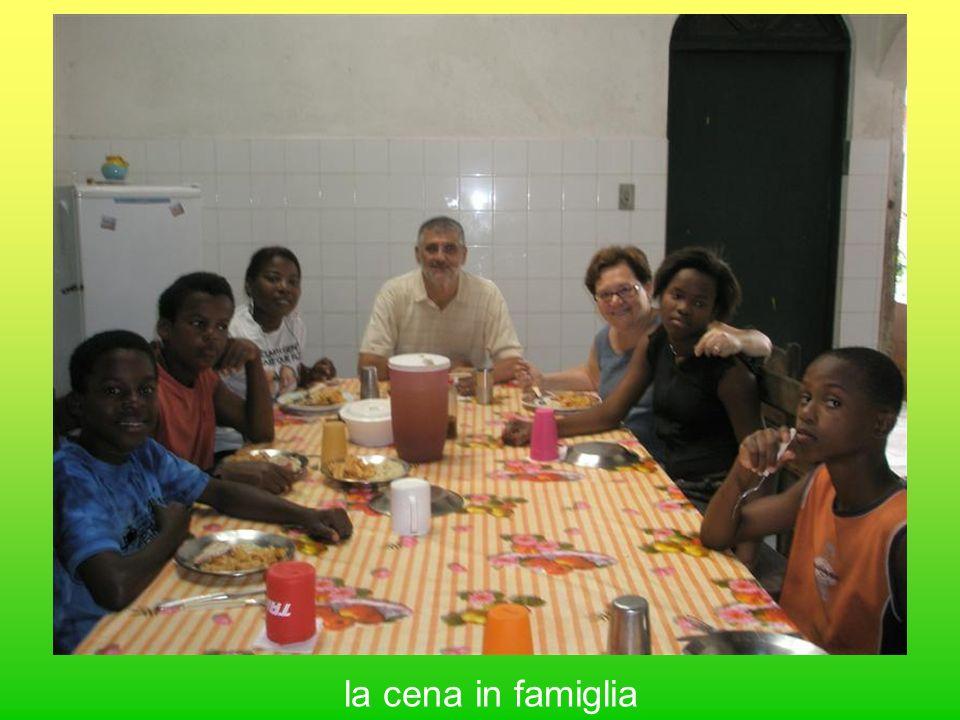 la cena in famiglia