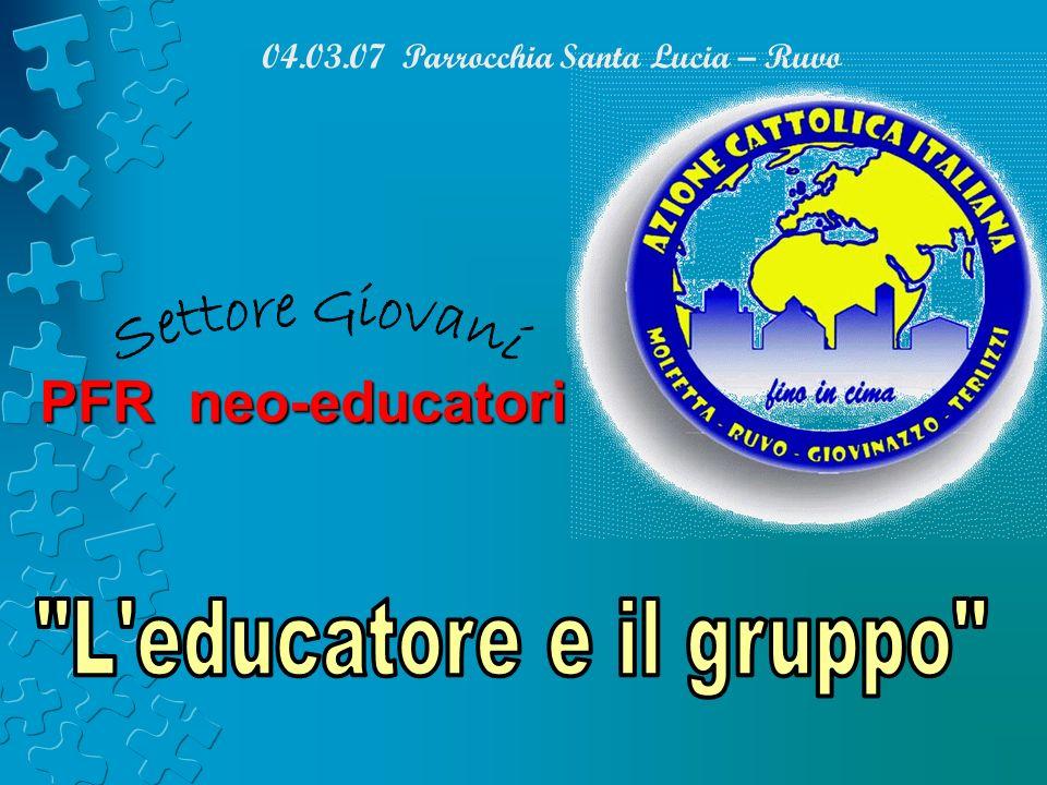04.03.07 Parrocchia Santa Lucia – Ruvo PFR neo-educatori