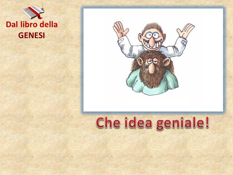 Dal libro della GENESI