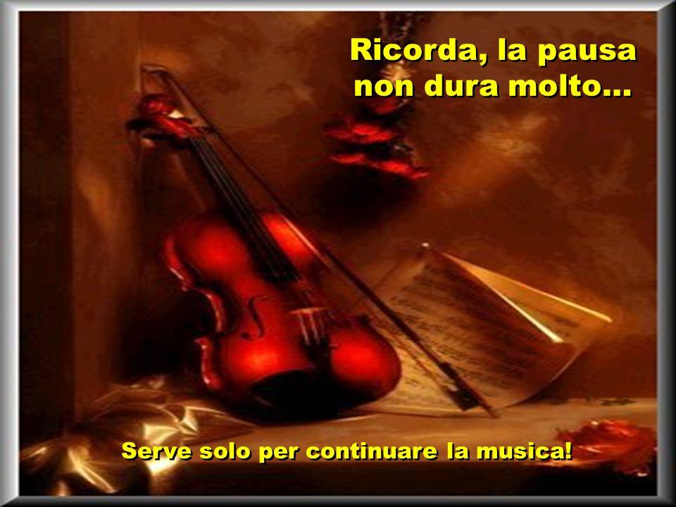 Comporre la musica della nostra vita generalmente è un processo lento e faticoso.