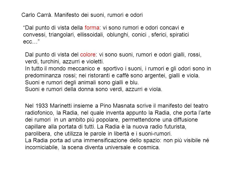 Carlo Carrà.
