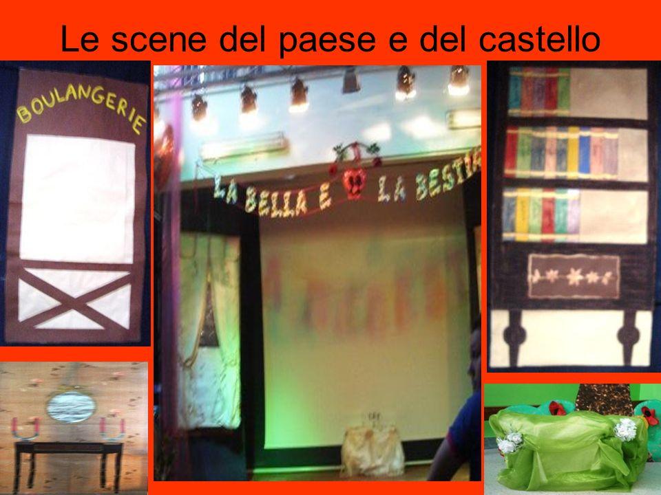 Le scene del paese e del castello