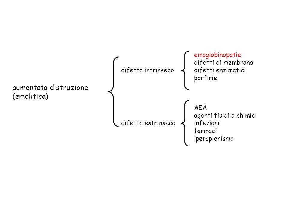 emolisi extravascolare - splenomegalia