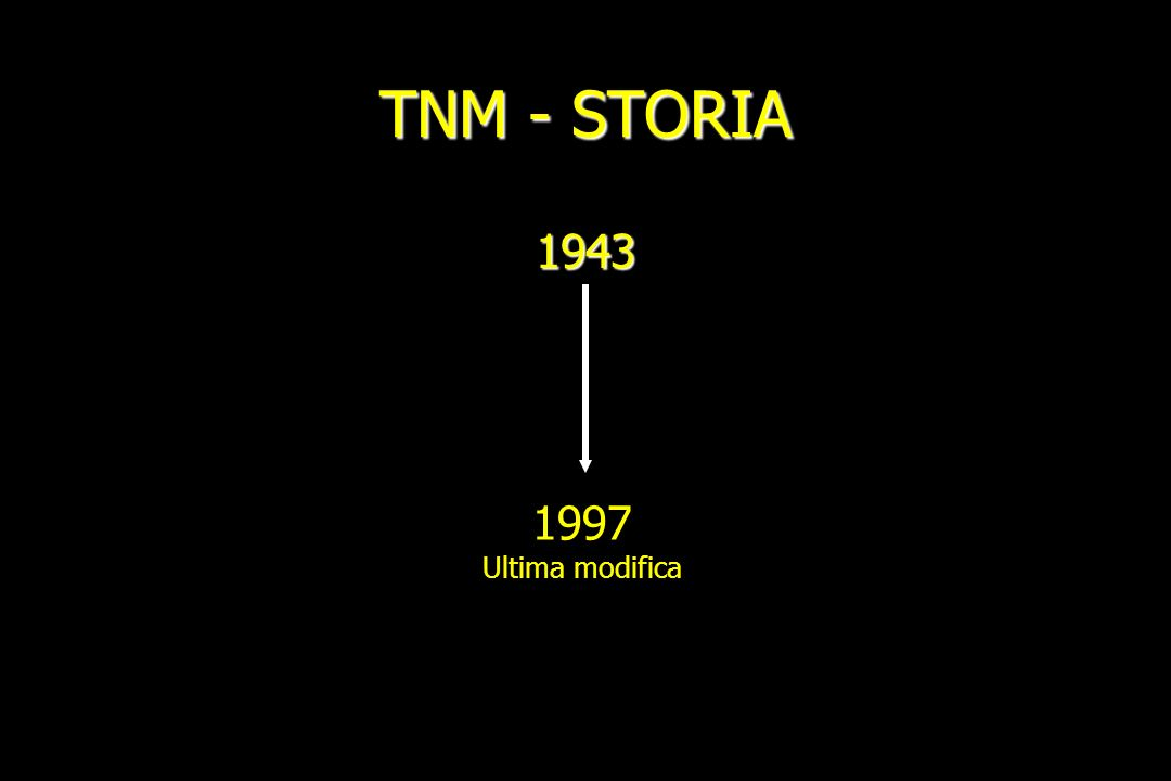 TNM - STORIA 1943 1997 Ultima modifica