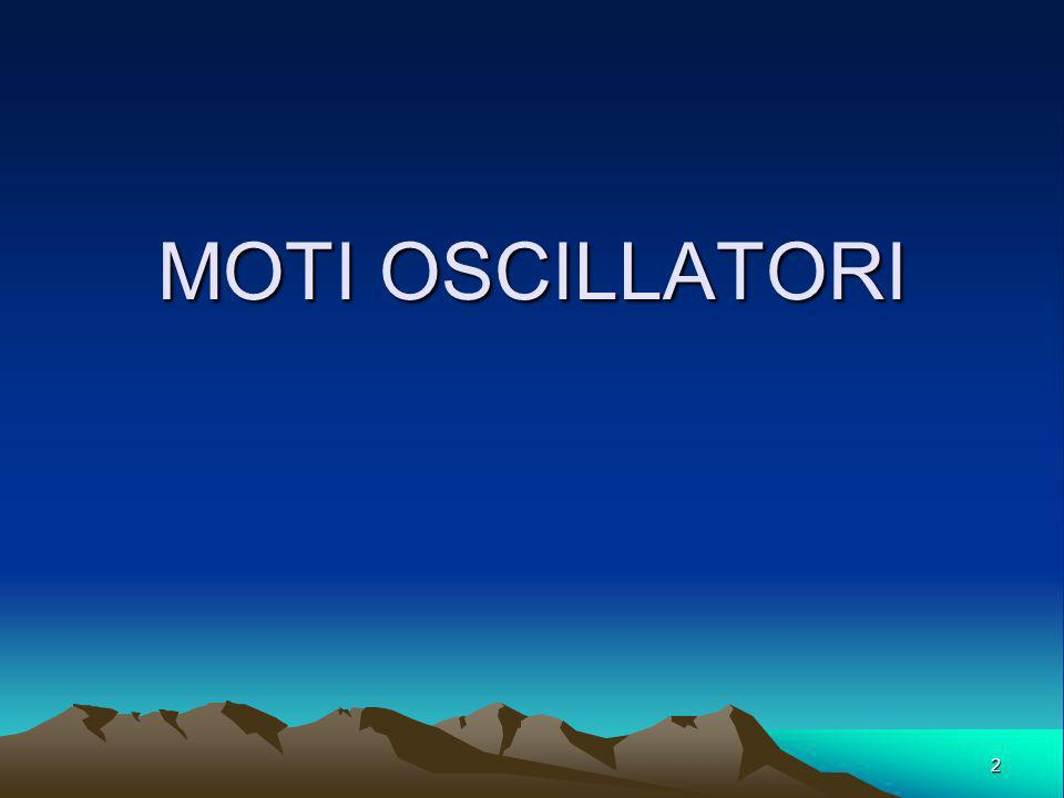 MOTI OSCILLATORI 2