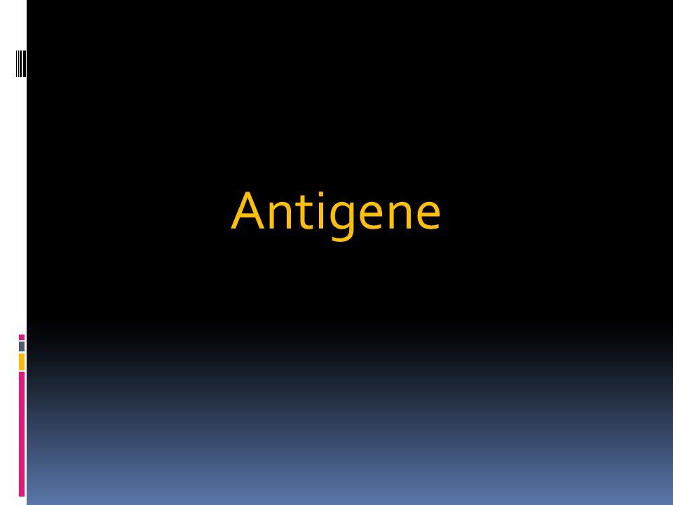 Gli antigeni sono quelle sostanze che introdotte in un organismo animale, inducono la formazione di anticorpi o una risposta cellulo-mediata.