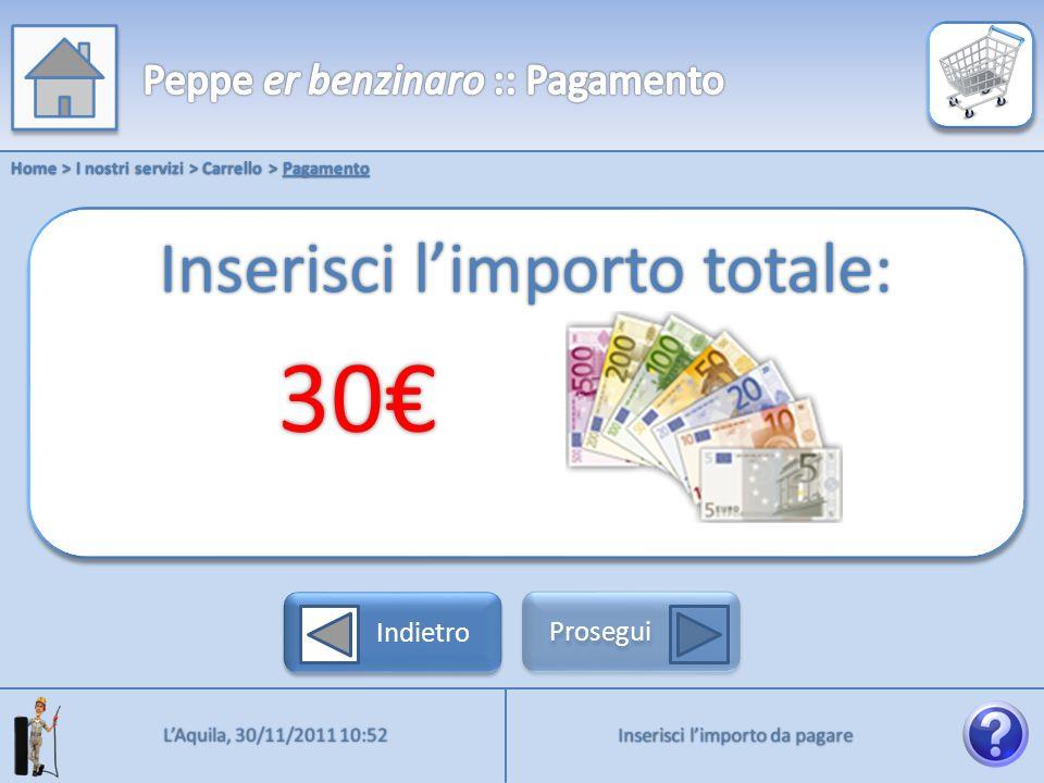 Home > I nostri servizi > Carrello > Pagamento Procedi alla fruizione del servizio LAquila, 30/11/2011 10:52 Indietro Prosegui Pagamento effettuato con successo!