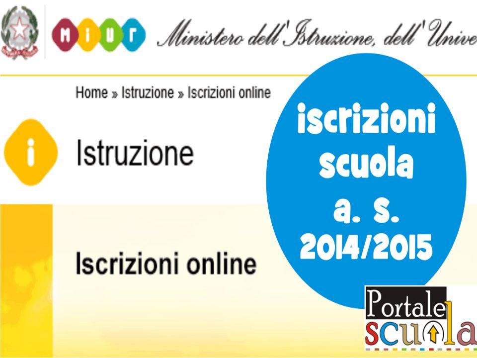 Per lAnno Scolastico 2014-15, le iscrizioni sono regolamentate dalla C.M.