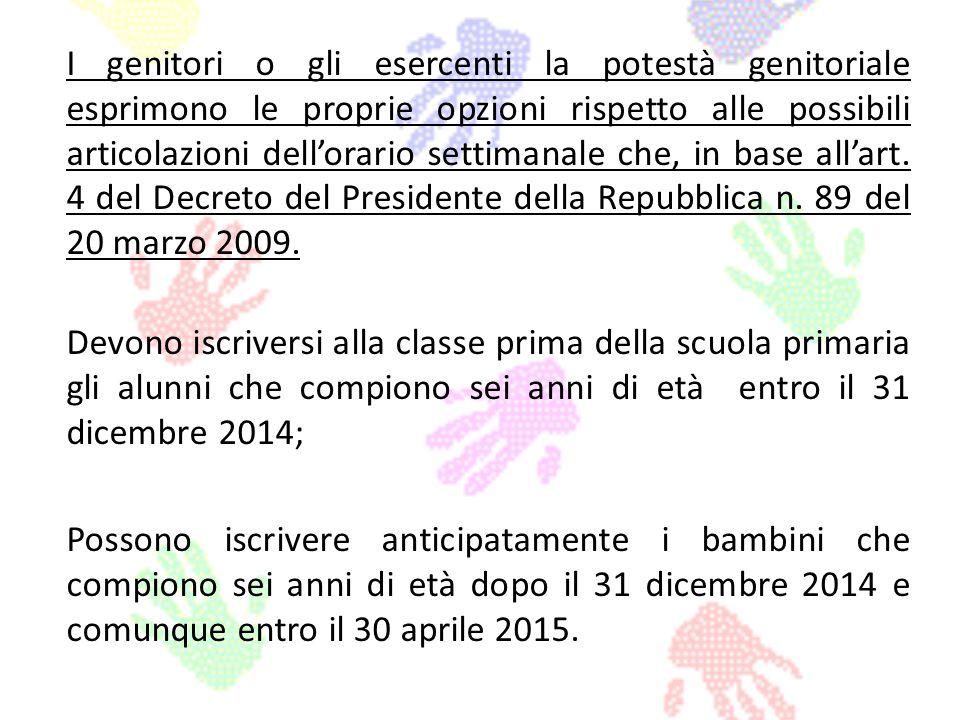Adempimenti delle famiglie Le famiglie per poter effettuare liscrizione on line devono: registrarsi sul sito www.iscrizioni.istruzione.it, seguendo le indicazioni presenti.