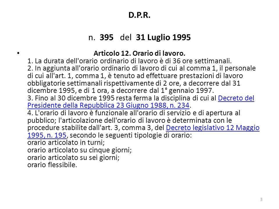 decreto 395 1995: