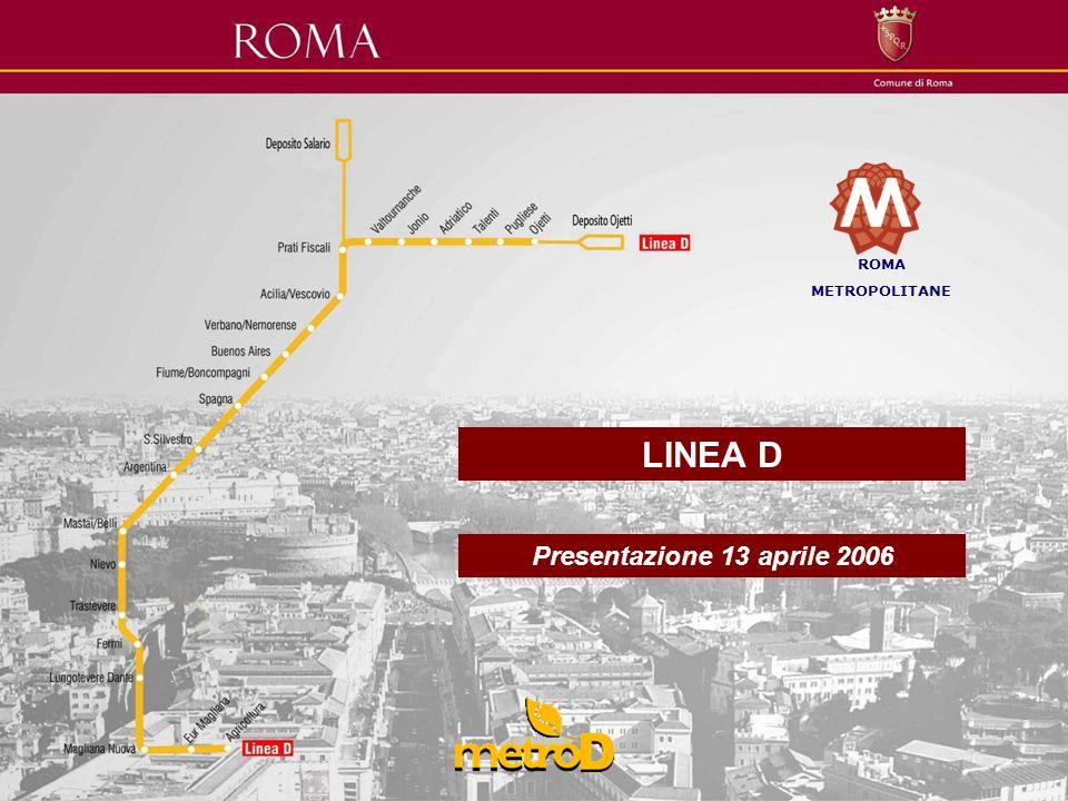 ROMA METROPOLITANE LINEA D Presentazione 13 aprile 2006