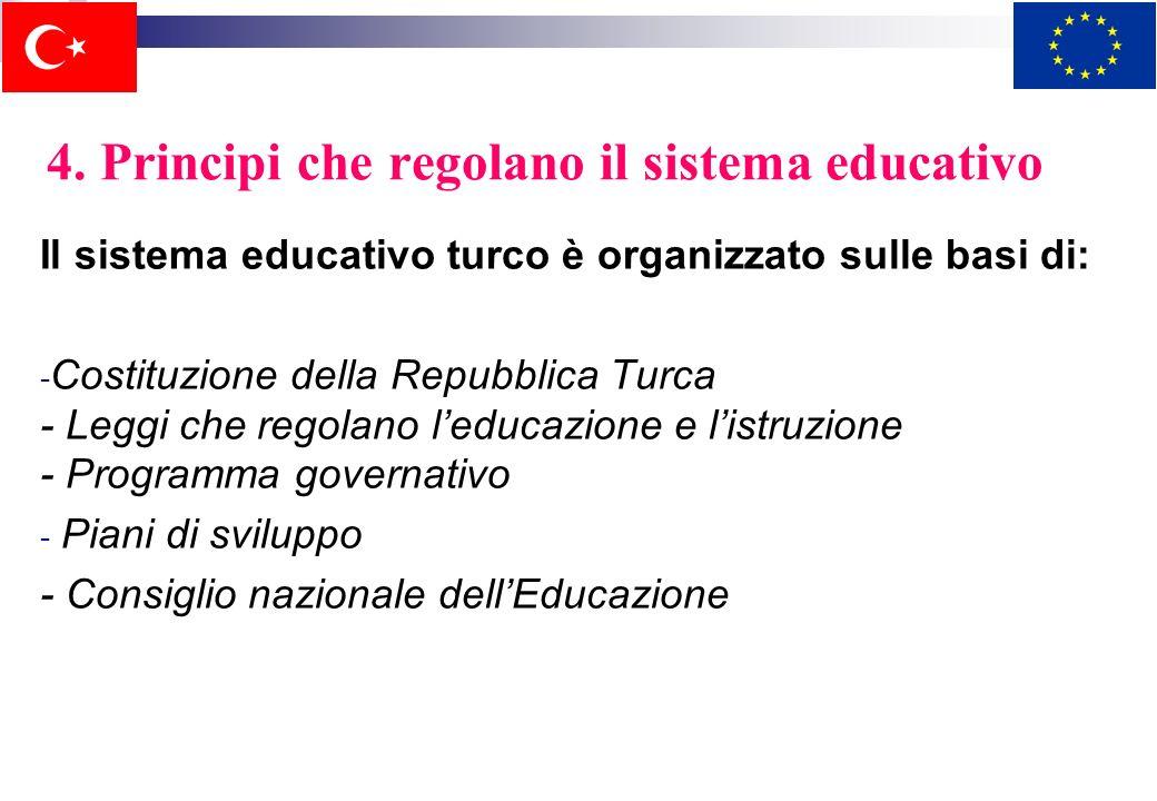 3. Caratteri generali del sistema educativo Il sistema educativo ha una caratteristica democratica, moderna e scientifica, secolare e caratteristiche