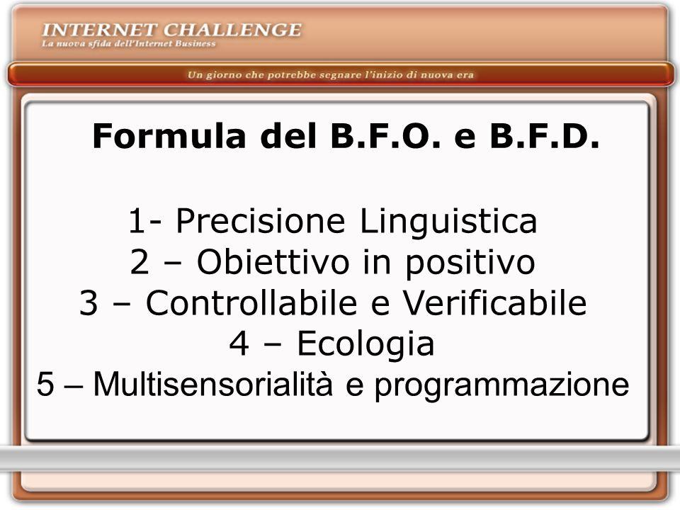 Formula del B.F.O.e B.F.D.