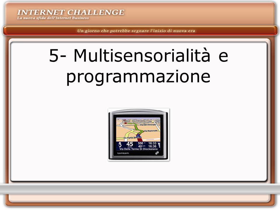 5- Multisensorialità e programmazione
