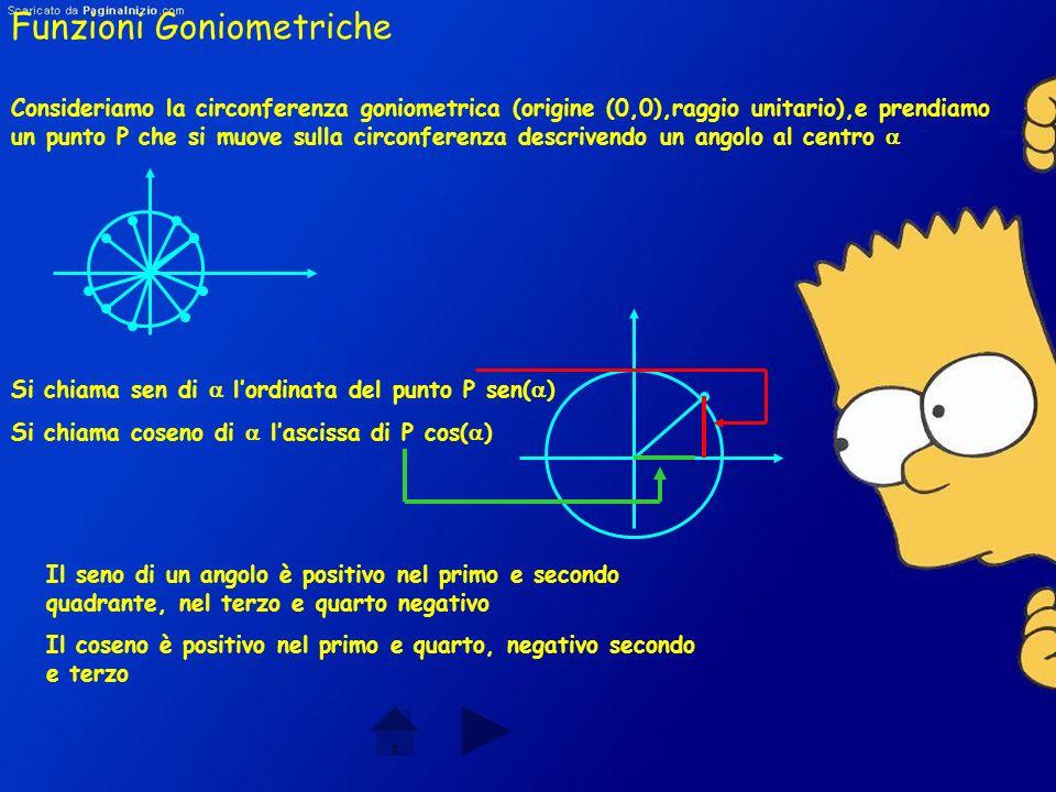 Gradi e Radianti Si chiama grado lampiezza dell angolo che è la 360 parte dell angolo giro Si chiama radiante l arco rettificato di lunghezza uguale a
