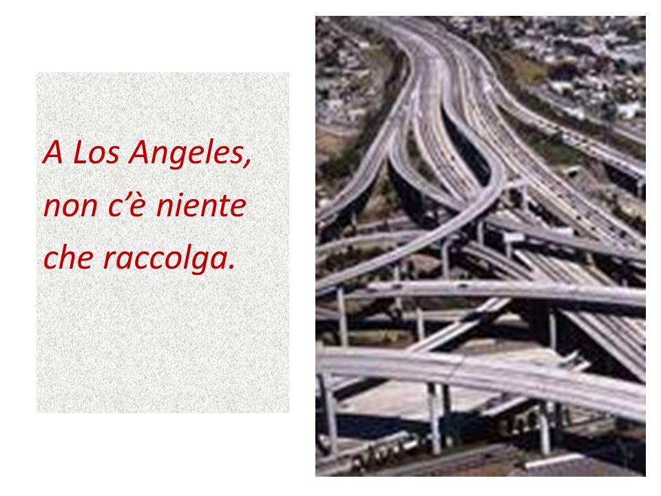 A Los Angeles, non cè niente che raccolga. 13