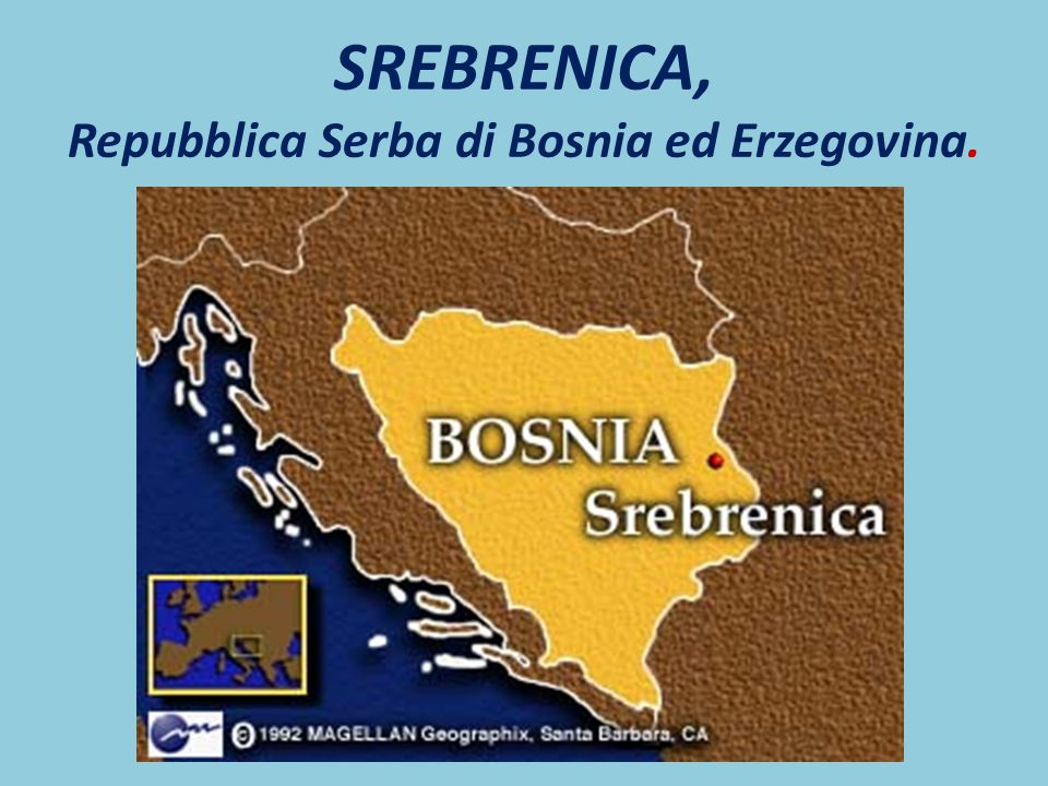 SREBRENICA, Repubblica Serba di Bosnia ed Erzegovina.
