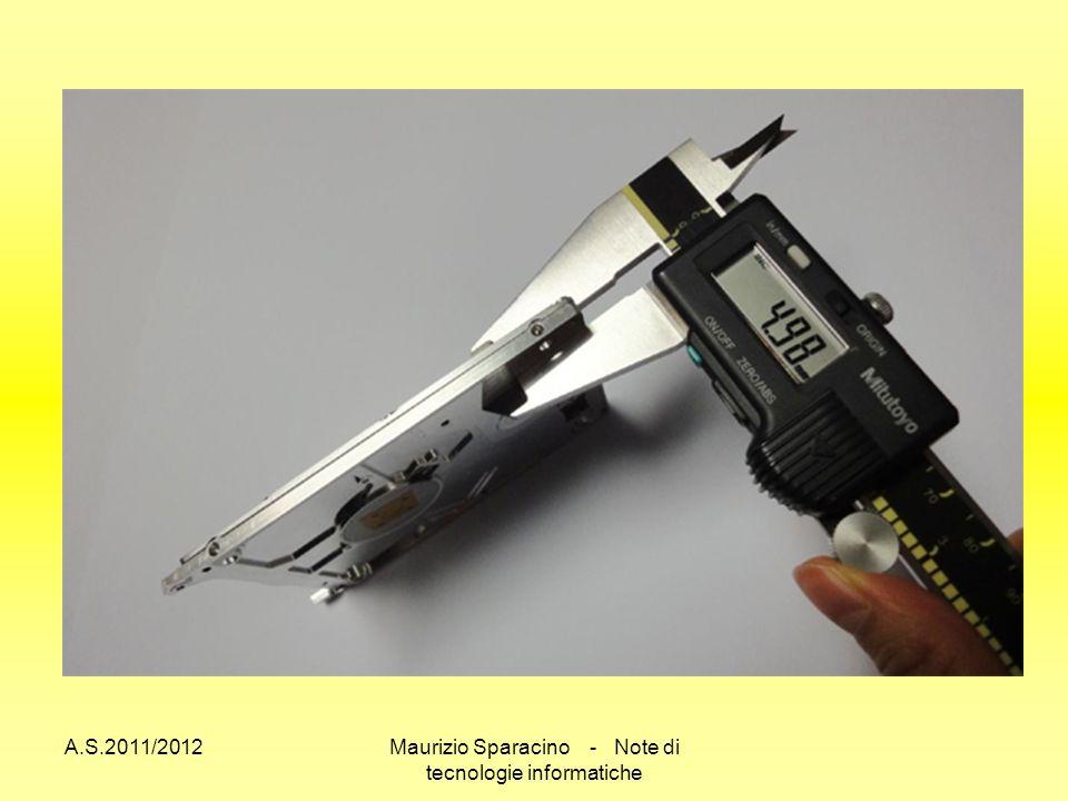 A.S.2011/2012Maurizio Sparacino - Note di tecnologie informatiche