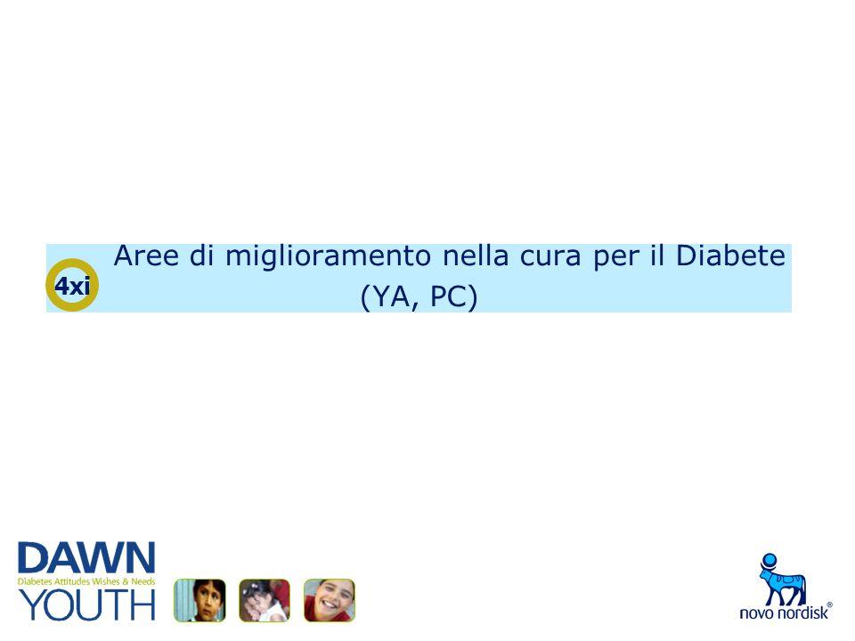 Aree di miglioramento nella cura per il Diabete (YA, PC) 4xi