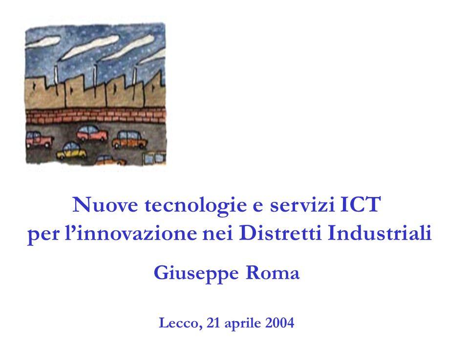 I distretti analizzati 120 distretti italiani individuati dal Censis sulla base di indagini dirette, Istat, Regioni, Club dei duistretti 76 distretti produttivi è l universo di indagine