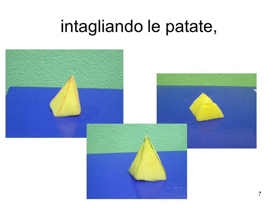 Torniamo alla questione posta inizialmente: esiste un poliedro con sette spigoli.